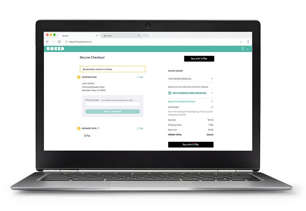 Google Pay стал доступен для оплаты в онлайне