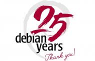 Debian исполнилось 25 лет