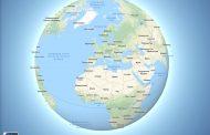 Google Карты стали отображать планету круглой при отдалении