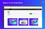 Браузер Opera для Linux начали распространять через Snap Store