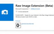 Приложение Фото в Windows 10 получил поддержку RAW, но добавят ее крайне лениво