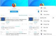 В сети появились новые скриншоты браузера Fenix от Mozilla