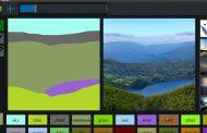NVIDIA продемонстрировала приложение для рисования GauGAN с очень активным использованием нейросетей