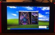 А вот Windows XP портированная на Nintendo Switch